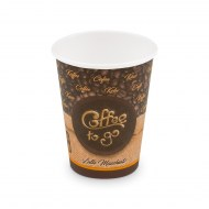Papierový pohár ,,Coffee to go,, 420 ml, XL (O 90 mm) [50 ks]