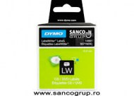 Dymo Label CD/DVD 57MM White