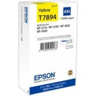 Atrament Epson C13T789440 yellow XXL WF5000