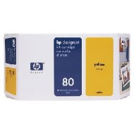 Atrament HP C4848A yellow No.80 350 ml