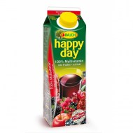 Džús Happy Day Multivitamín red fruit 100% 1l