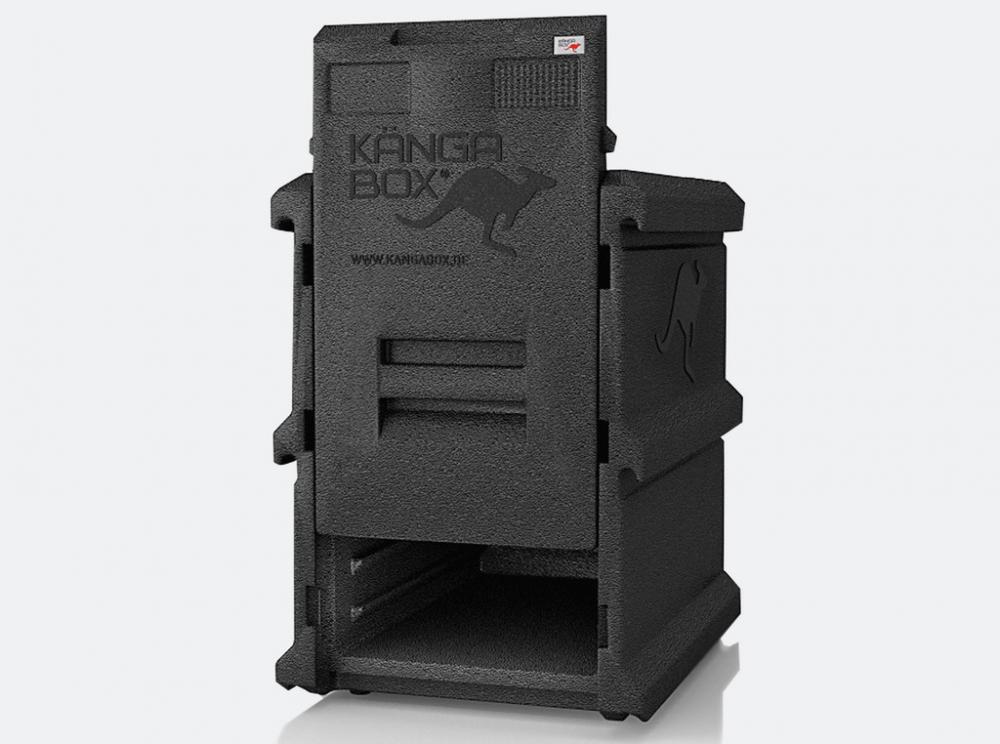 KANGABOX termobox Tower GN 66l-5 čierna Termo-taška donášková